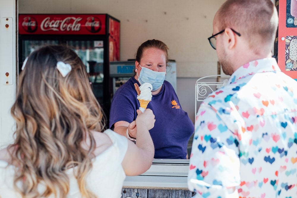 Ice Cream Pandemic Wedding Anna Pumer Photography
