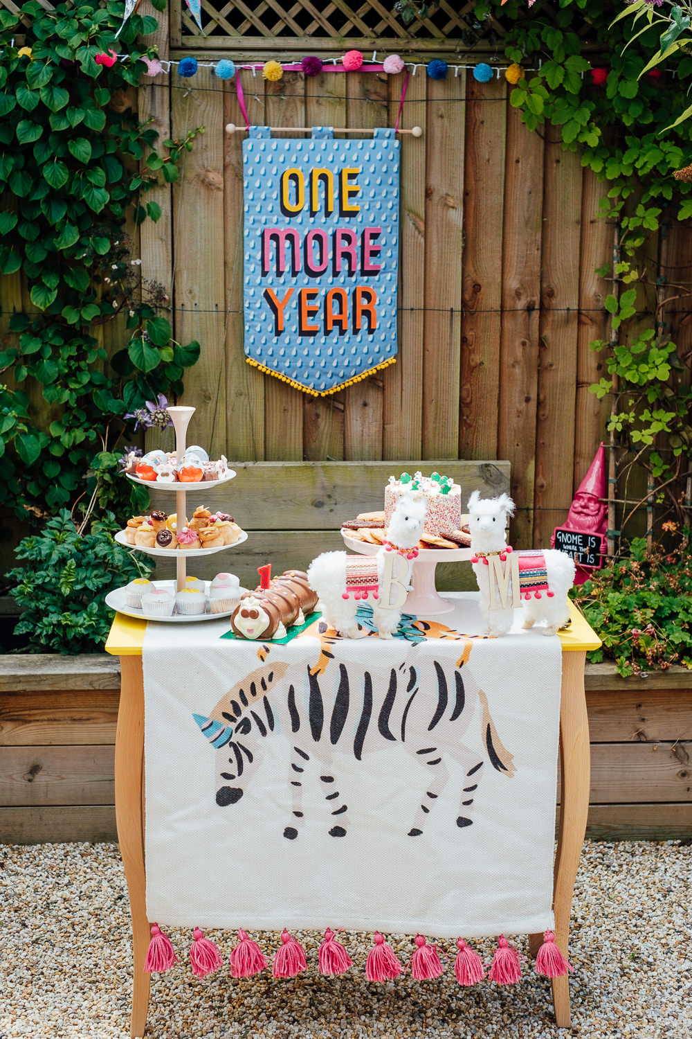 Cake Table Dessert Banner Sign Pandemic Wedding Anna Pumer Photography