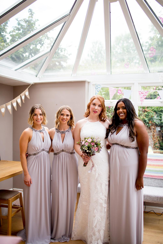 Bridesmaids Bridesmaid Dress Dresses Mink Pythouse Kitchen Garden Wedding Jessica Hayman Photography