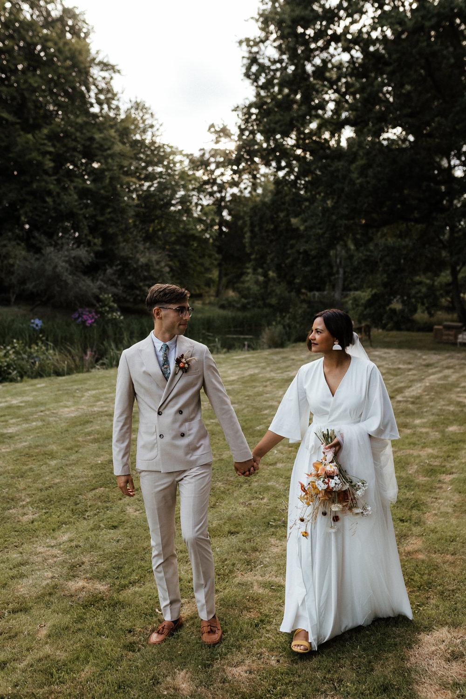Small Wedding Ideas UK Caitlin and Jones