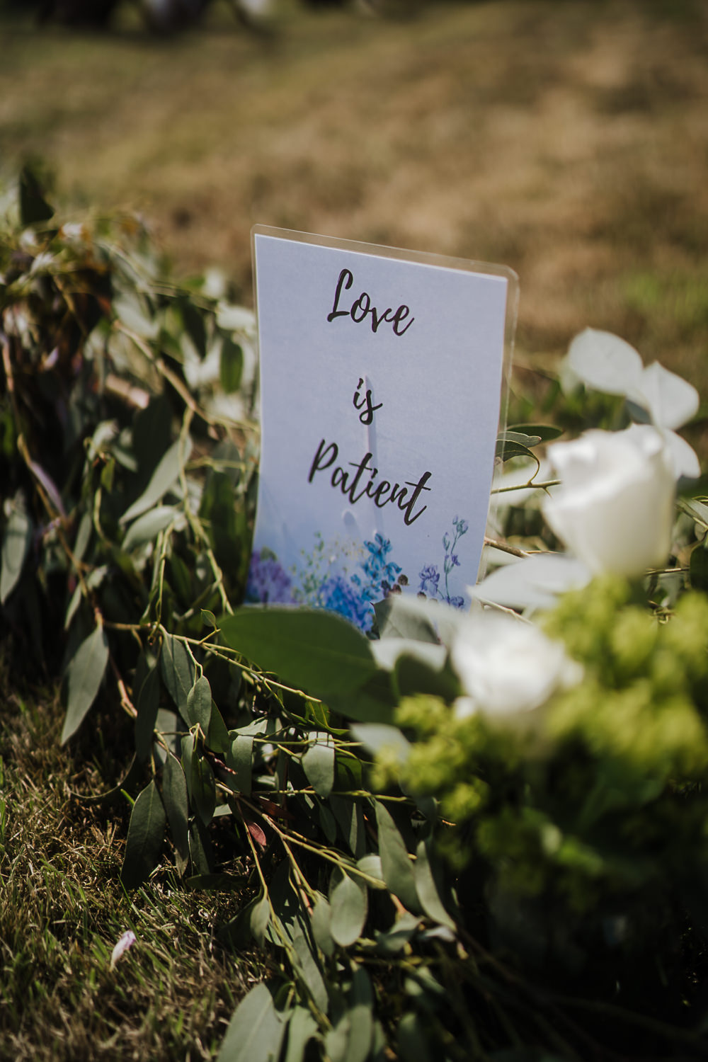 Sign Signs Signage Socially Distanced Wedding Tiffany Gage Photography