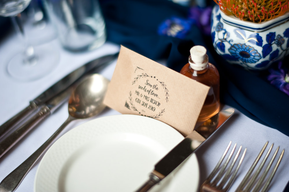 Seed Favours Floral Wedding Rachael Connerton Photography