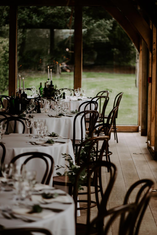 Round Tables Decor Hazel Gap Barn Wedding The Light Painters