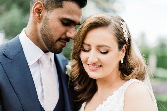 Bride Bridal Make Up Irish Indian Wedding Jacob & Pauline Photography