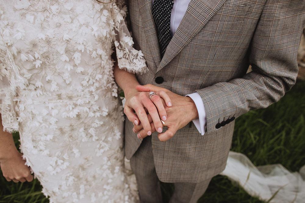 Marquee Wedding Wales Fox & Bear Photography