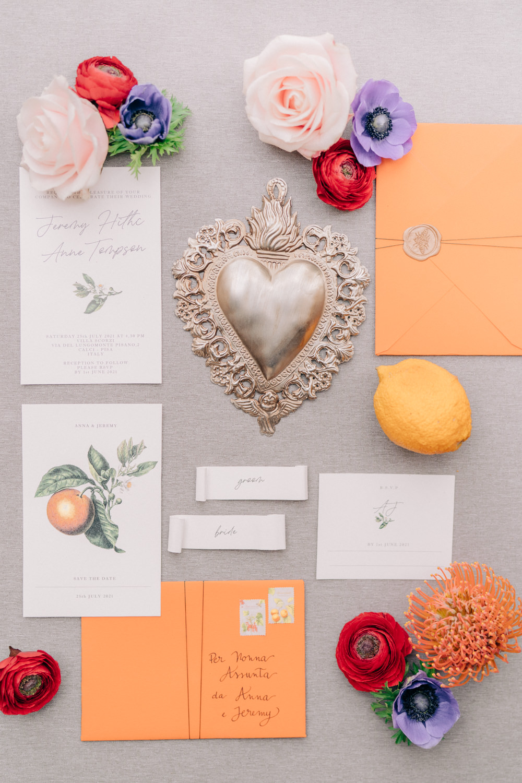 Stationery Invite Invitation Tuscan Wedding Ideas Giuseppe Giovannelli