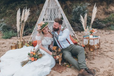 Beach Wedding Ideas with Macramé Wedding Decor