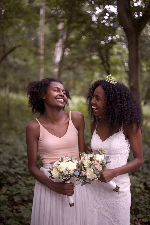 Bridesmaids Bridesmaid Dress Dresses Top Skirt Cuffley Camp Wedding Heather Winstanley Photography
