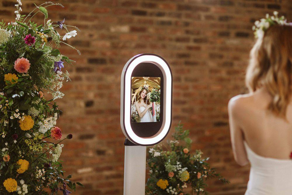 Oakwood at Ryther Wedding Freya Raby Photo Booth