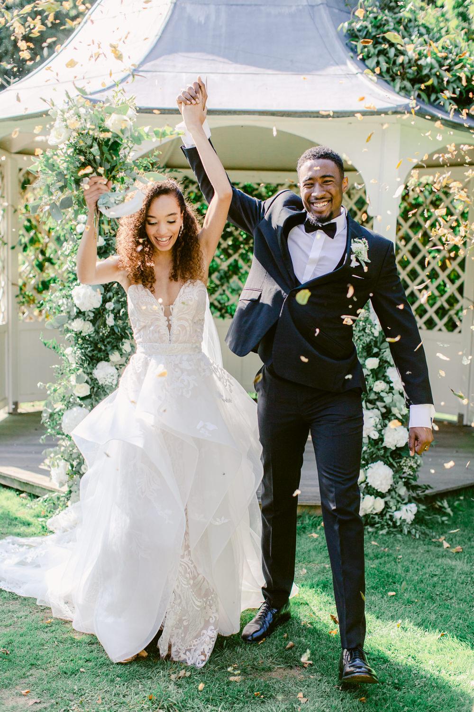 Stately Home Wedding Whitney Lloyd Photography Confetti Throw