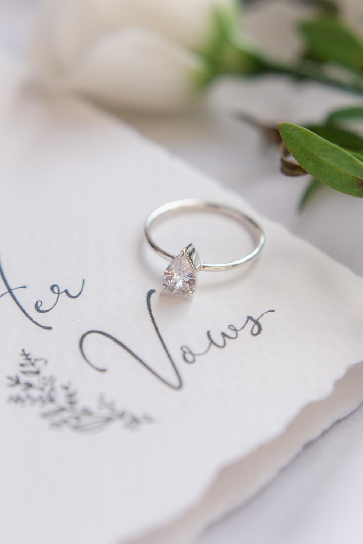 Pear Engagement Ring Diamond Stately Home Wedding Whitney Lloyd Photography