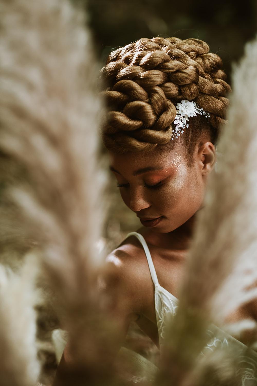 Bride Bridal Make Up Woods Wedding Tom Jeavons Photography