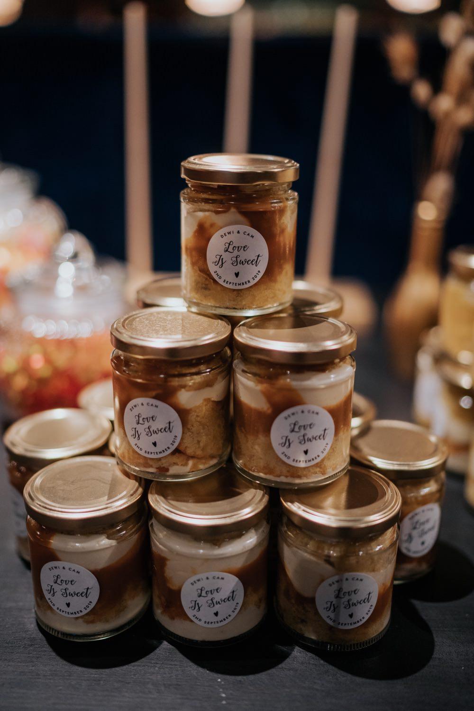 Cake Jar Favours Brighton Town Hall Wedding Bloom Weddings