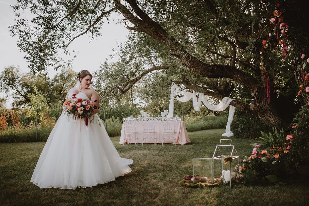 Fairytale Forest Wedding Christina W Kroeker Creative