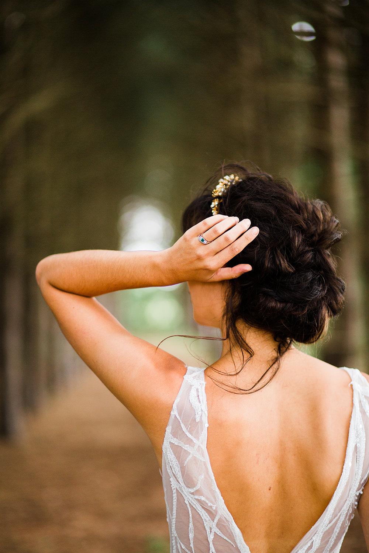 Bride Bridal Hair Style Up Do Jungle Wedding Ideas Terri Pashley Photography