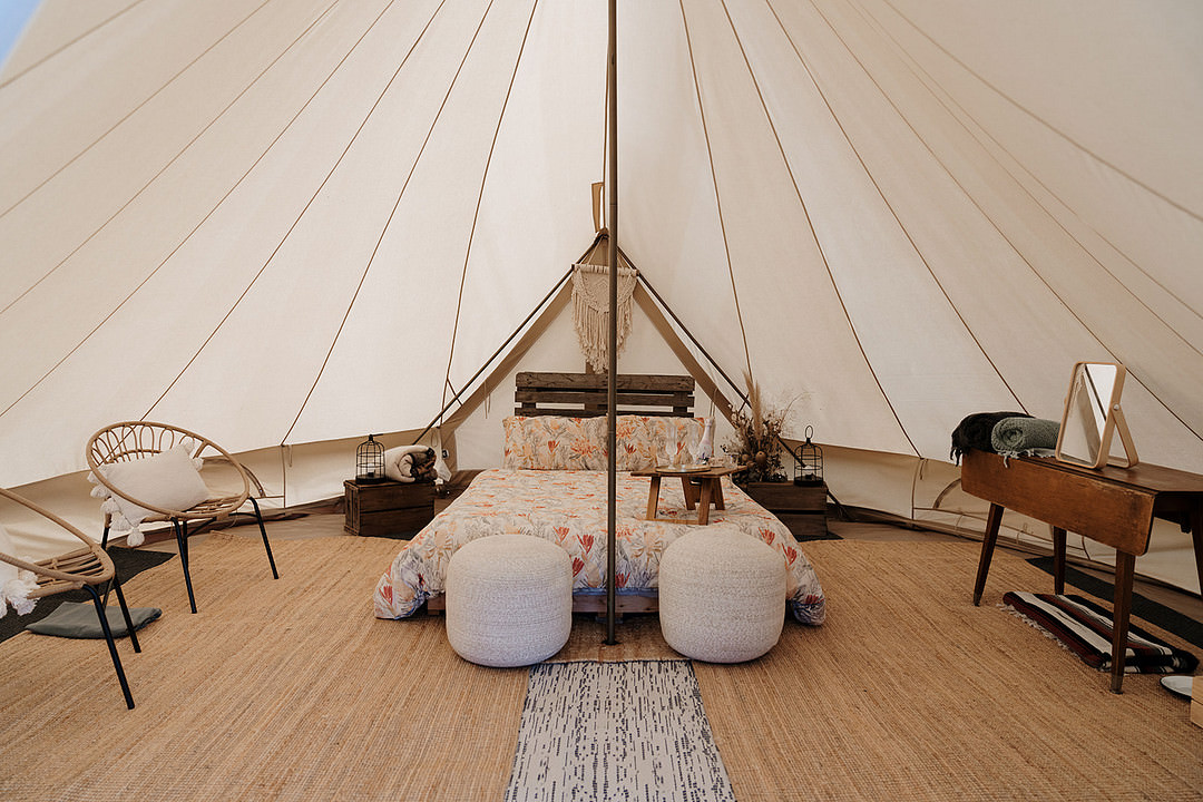 Bell Tent Honeymoon Suite Mountain Elopement Petite Visuals