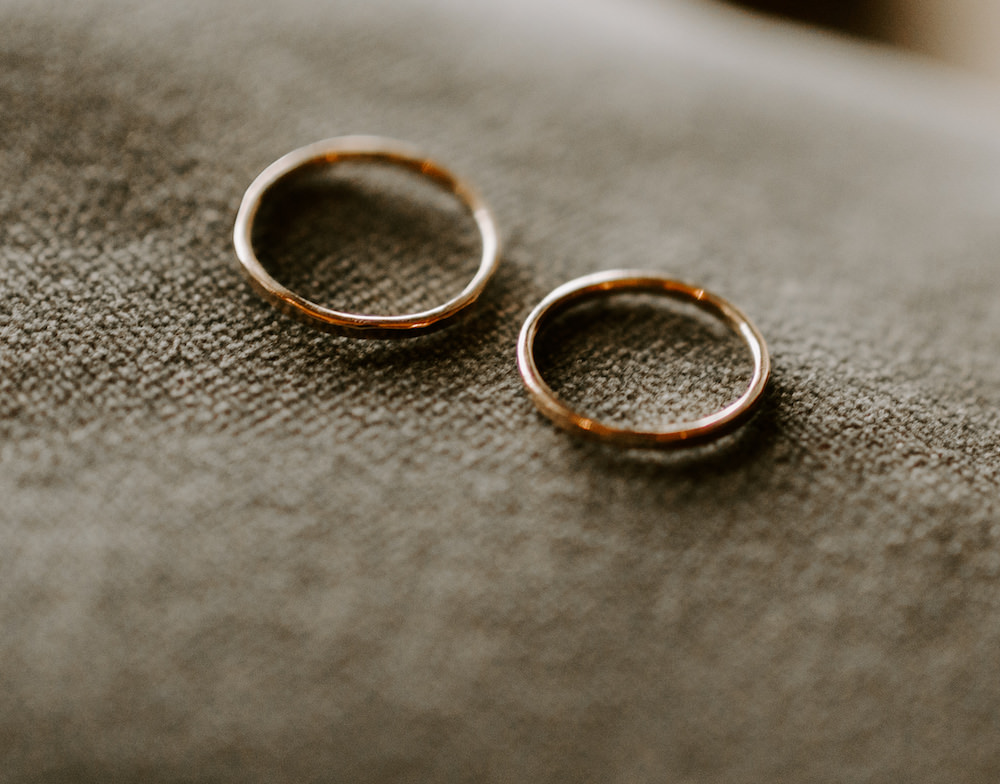 Rings Bands Orocco Pier Wedding Meggy Mac Photography