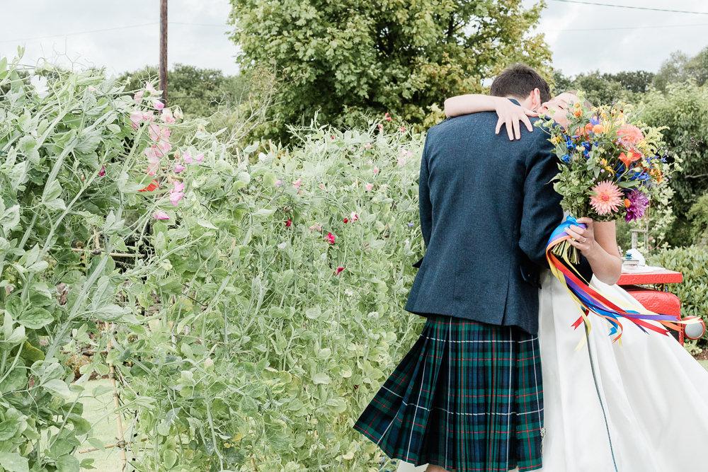 Scotland Garden Wedding LJ Horton Photography