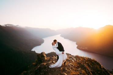 The Most Spectacular Mountain Elopement