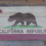 California Republic Flag Art