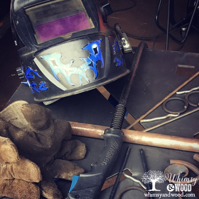 Learning to Weld with Gina Rossi-the gear
