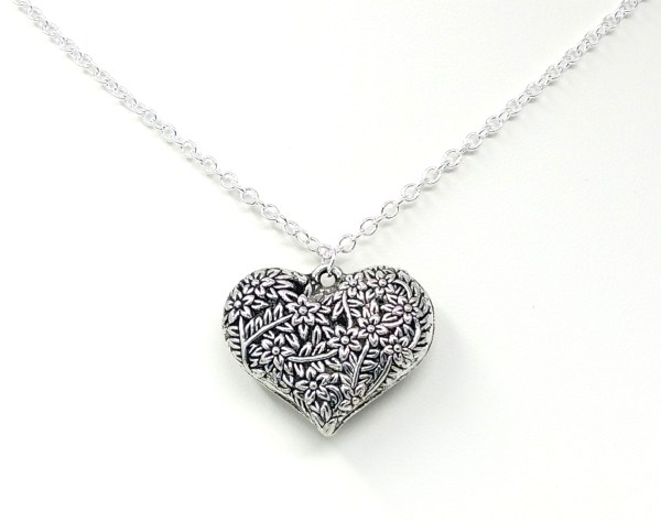 Heart of Flora Necklace