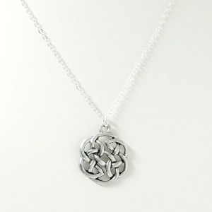 round celtic knot necklace