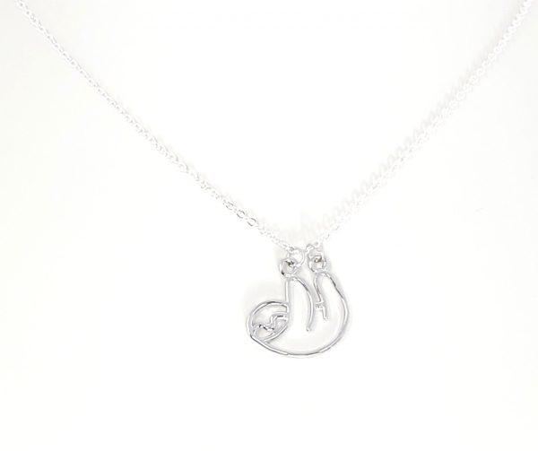 cute sloth necklace