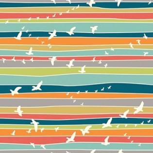 birds in stripe