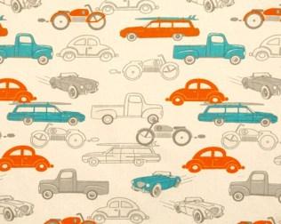 retro rides turq+orange
