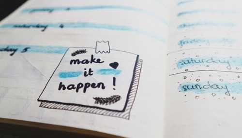 Cute Doodles- things to track in your planner