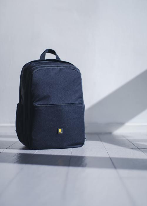 Minimalist Travel Backpack in Shadow