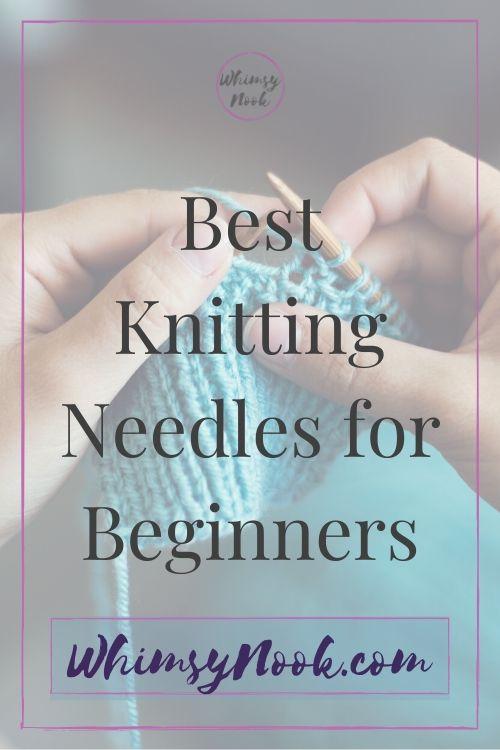 Beginner Knitting Needles Intro Image