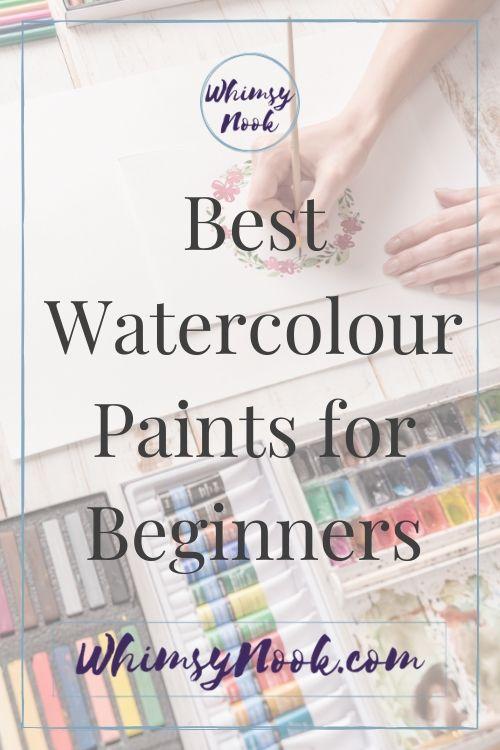 Beginner Watercolour Paints Cover Art