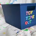 Toy Timeout Box: Easy Parenting Craft