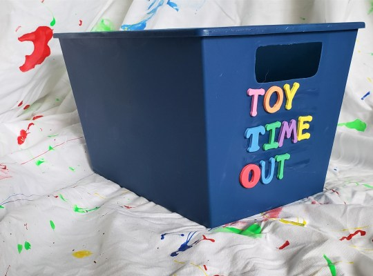 Toy Timeout Box