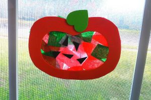 Stain Glass Apple