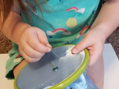 Sequin Sewing Project For Kids