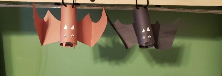 hanging bats decoration