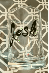sharpie glass mug