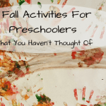 5 Fall Activities for Preschoolers You Haven't Thought Of