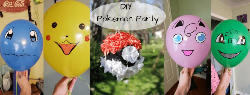 DIY Pokemon Party