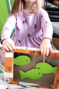 cardboard Aquarium craft