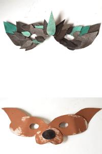 cardboard masks craft