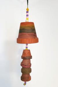 Terracotta Pot Windchime Kid-Made Gifts