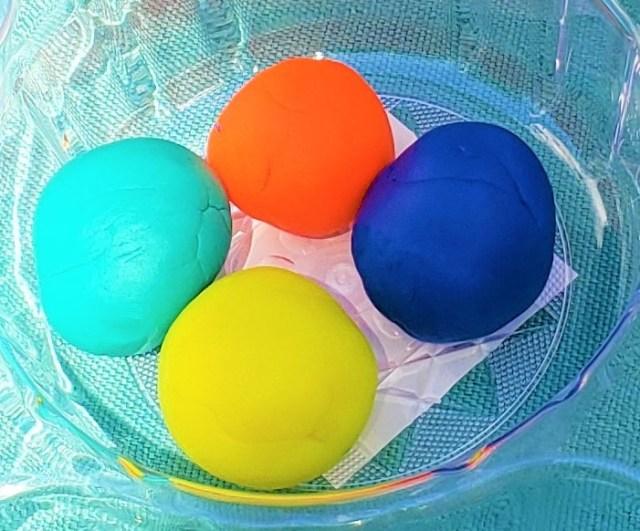 play dough activity for preschoolers