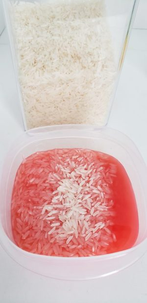 Coloring Rice