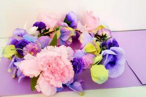 DIY fairy flower crown