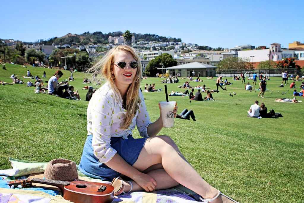 Dolores Park with Warby Parker & Boba Guys