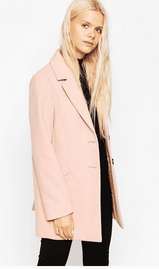 asos blush jacket